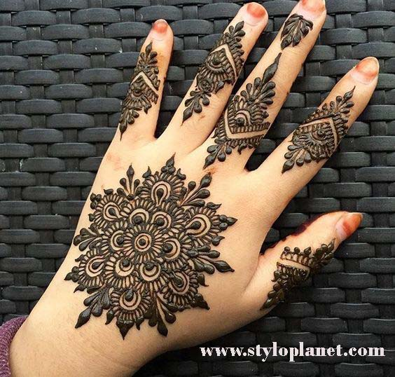 2e5a204e3 Stylish Eid Mehndi/Henna Designs With Pictures | Stylo Planet