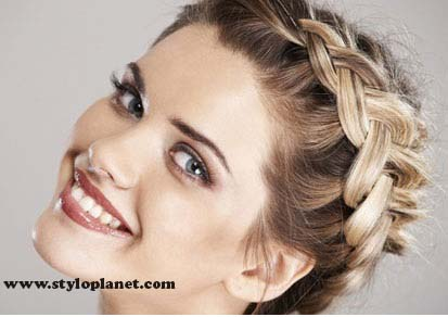 How to Make French Braid Step by Step French Top Knot Tutorial With Pictures (20)