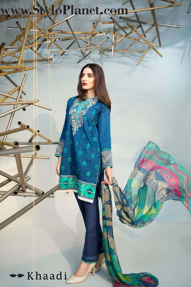 Khaadi Luxrious Festive Eid Collection 2016-2017 Designs for Women (11)