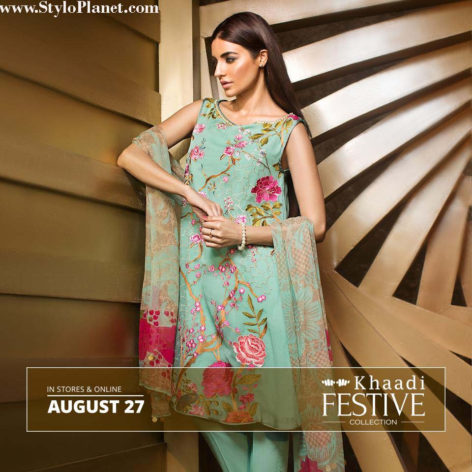 Khaadi Luxrious Festive Eid Collection 2016-2017 Designs for Women (2)