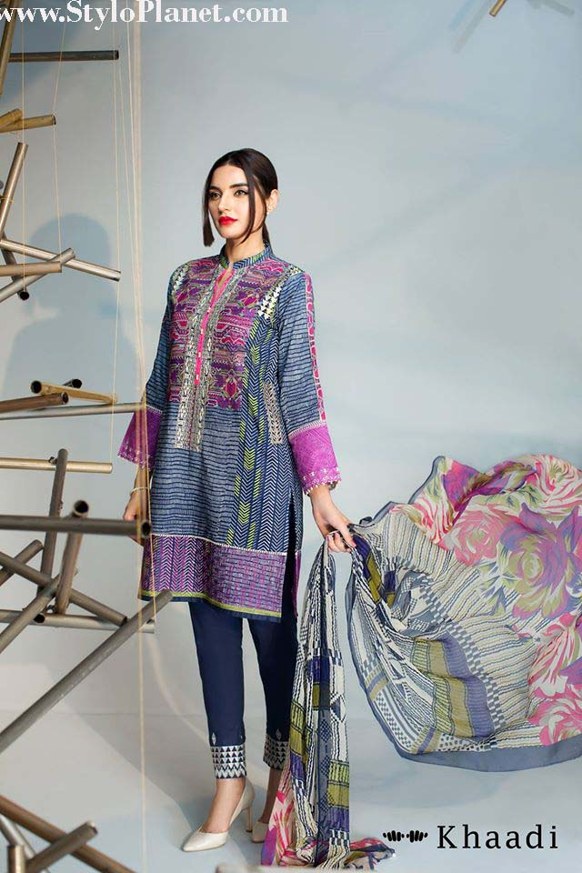 Khaadi Luxrious Festive Eid Collection 2016-2017 Designs for Women (23)