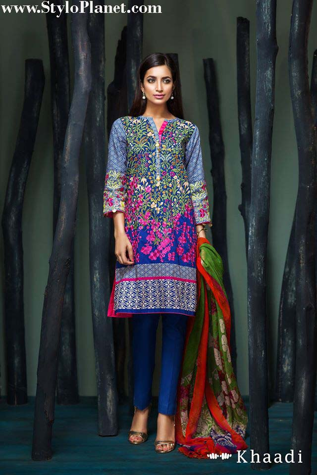 Khaadi Luxrious Festive Eid Collection 2016-2017 Designs for Women (5)