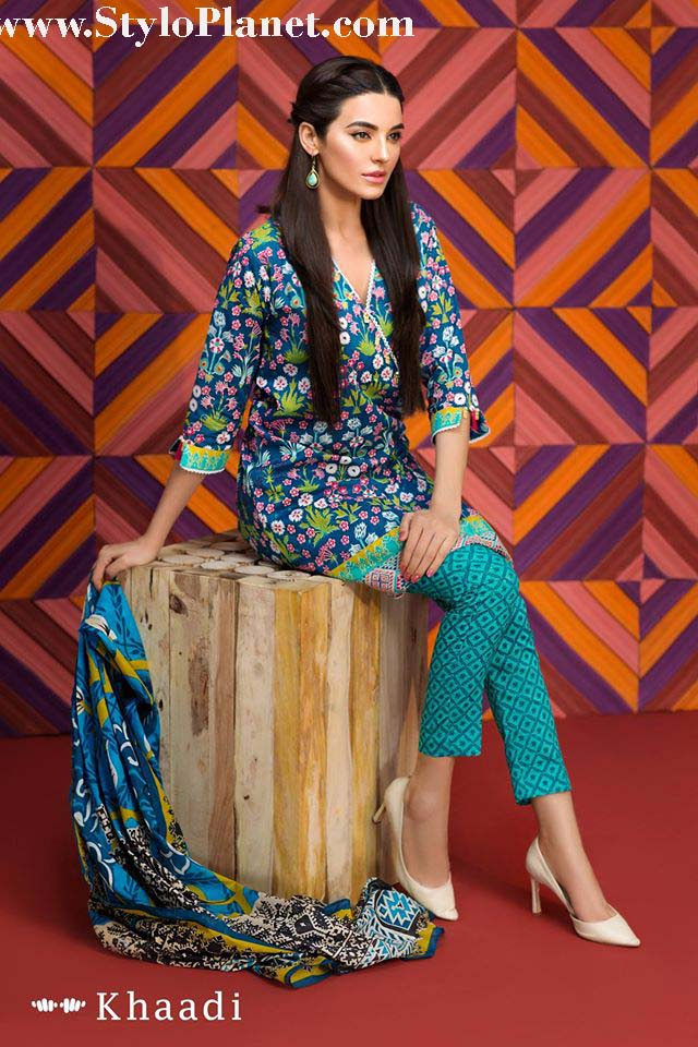 Khaadi Luxrious Festive Eid Collection 2016-2017 Designs for Women (6)