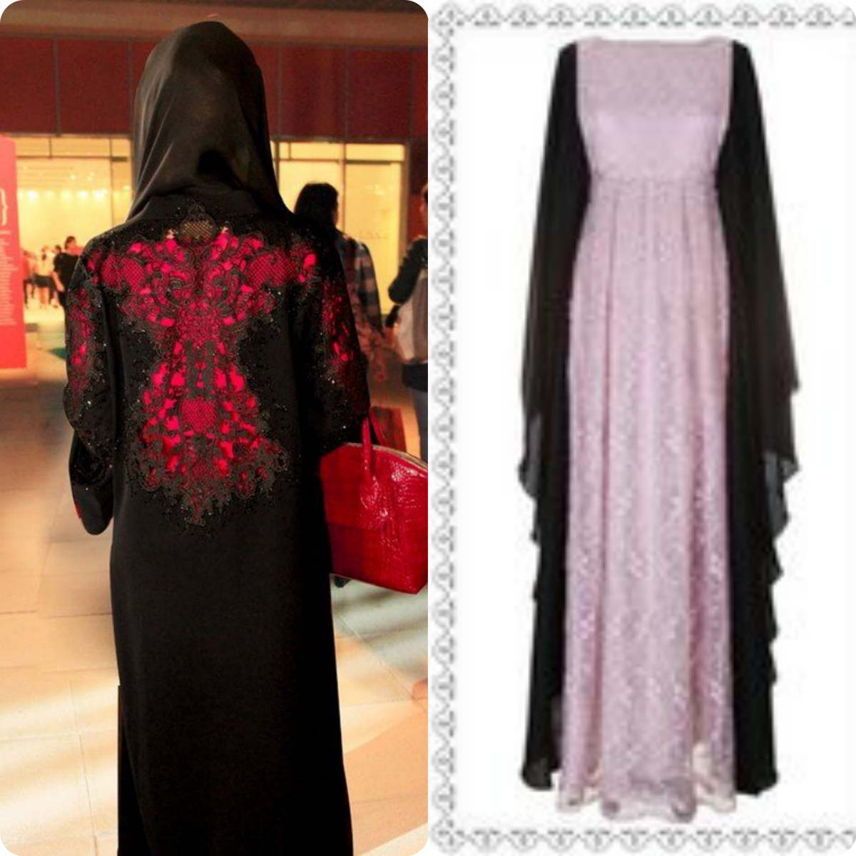 Fancy Abaya trends in Pakistan