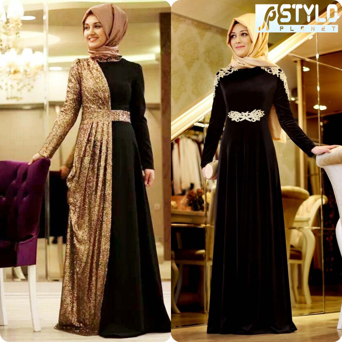 Lace Abaya Designs Latest Collection 2016-2016 for Women (12)