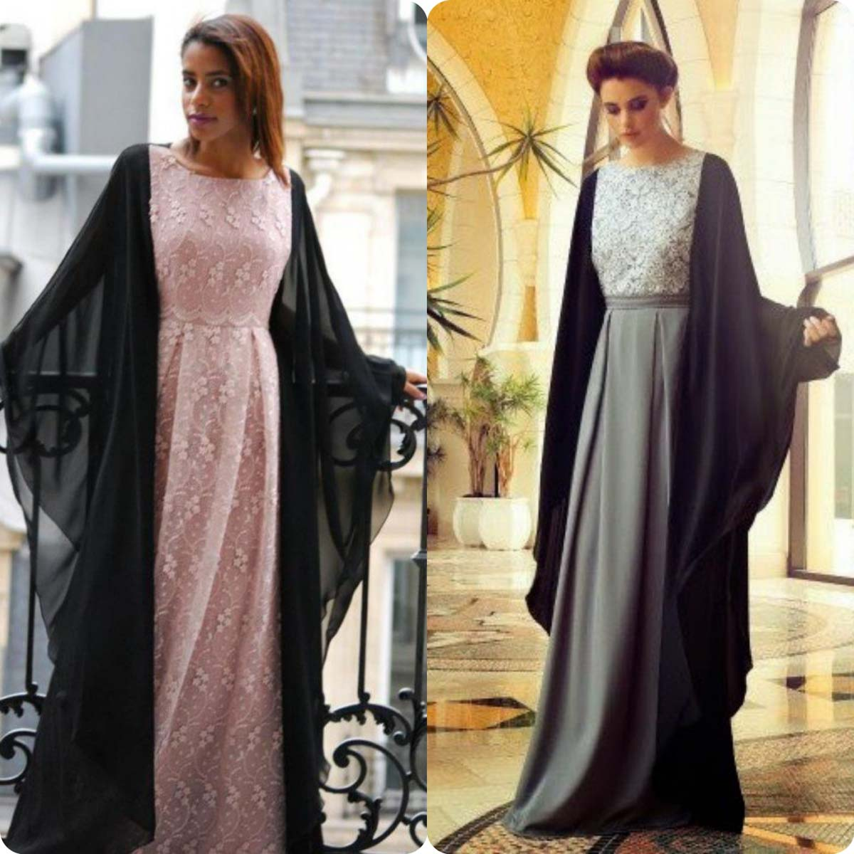 Lace Abaya Collection