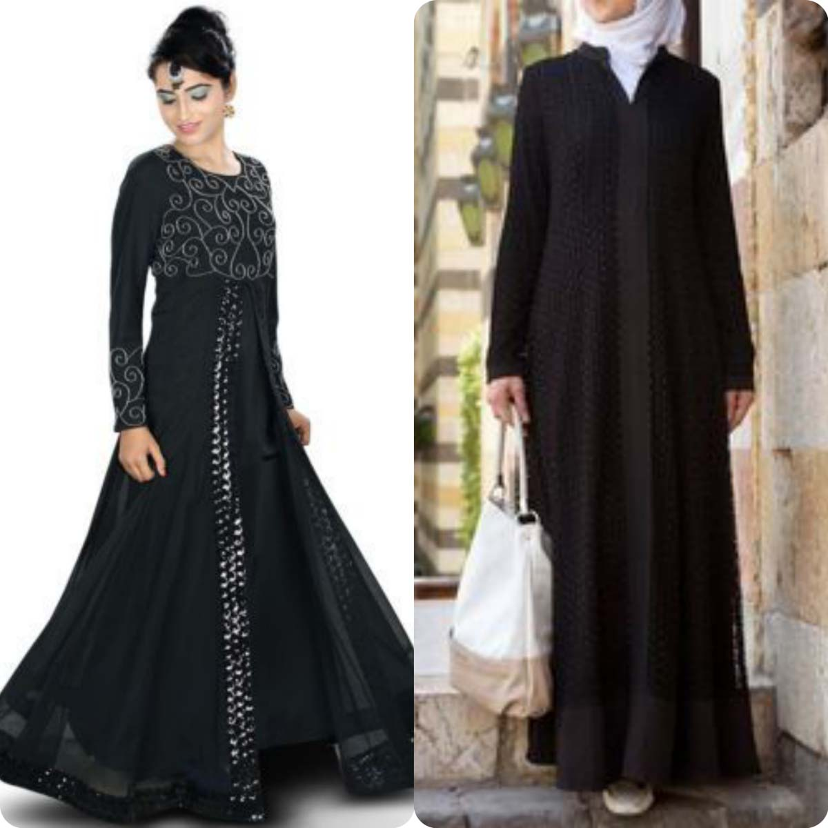 Latest Lace Abaya Designs & Trends 2016-2017