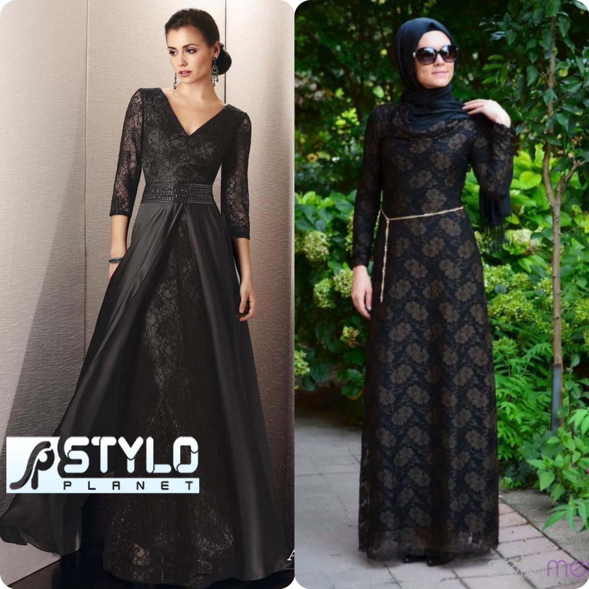 Lace Abaya Designs Latest Collection 2016-2016 for Women (8)