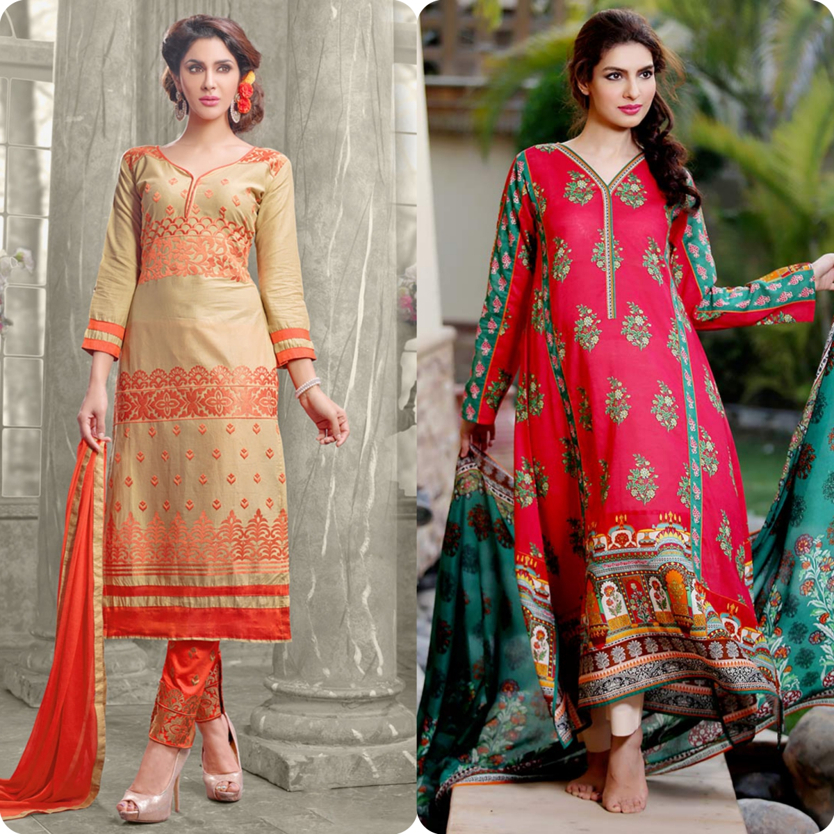 Latest Straight Pant Suits Dresses Design Collection for Women 2016-2017 (11)