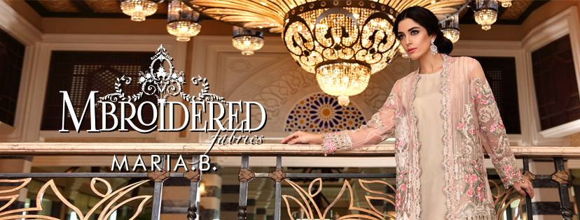 Maria.b Mbroidered Eid Dresses Designs 2016-2017 Collection  (16)