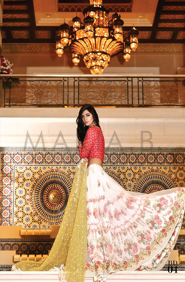 Maria.b Mbroidered Eid Dresses Designs 2016-2017 Collection  (3)