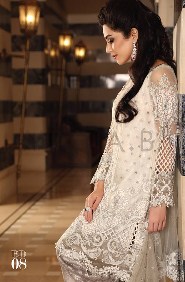 Maria.b Mbroidered Eid Dresses Designs 2016-2017 Collection  (7)