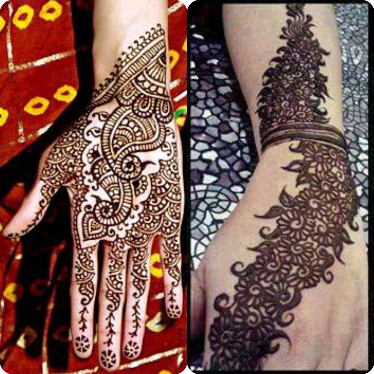 Mehndi design 2017 eid collection - New Simple And Easy Mehndi Designs 2016 2017 For Eid Al Azha 11