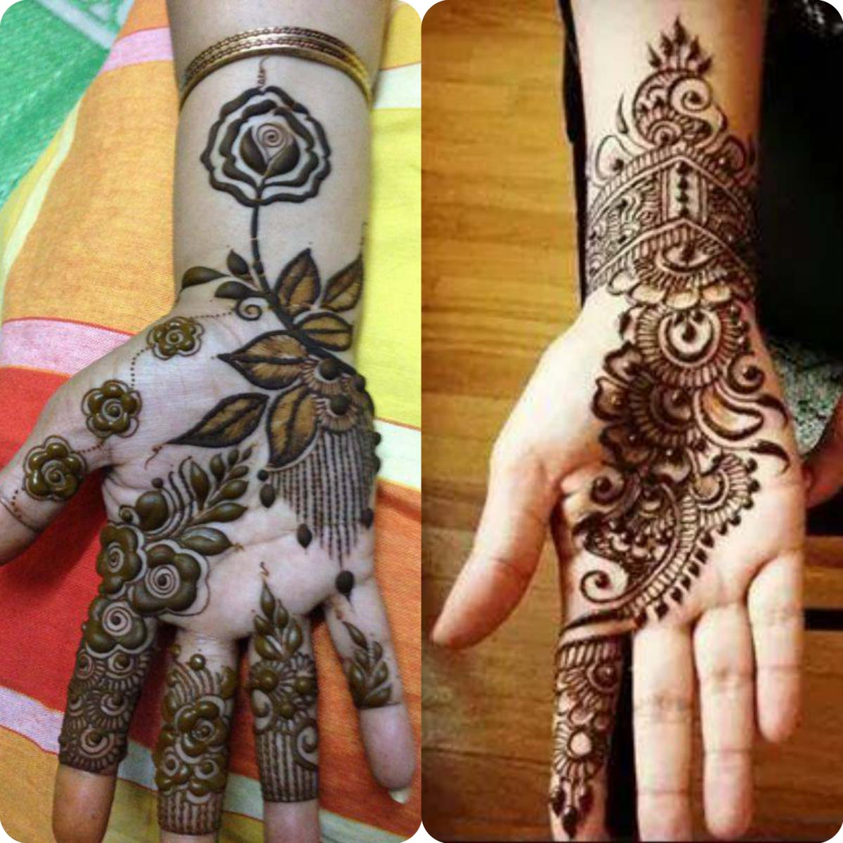 Mehndi design 2017 eid - New Simple And Easy Mehndi Designs 2016 2017 For Eid Al Azha 12