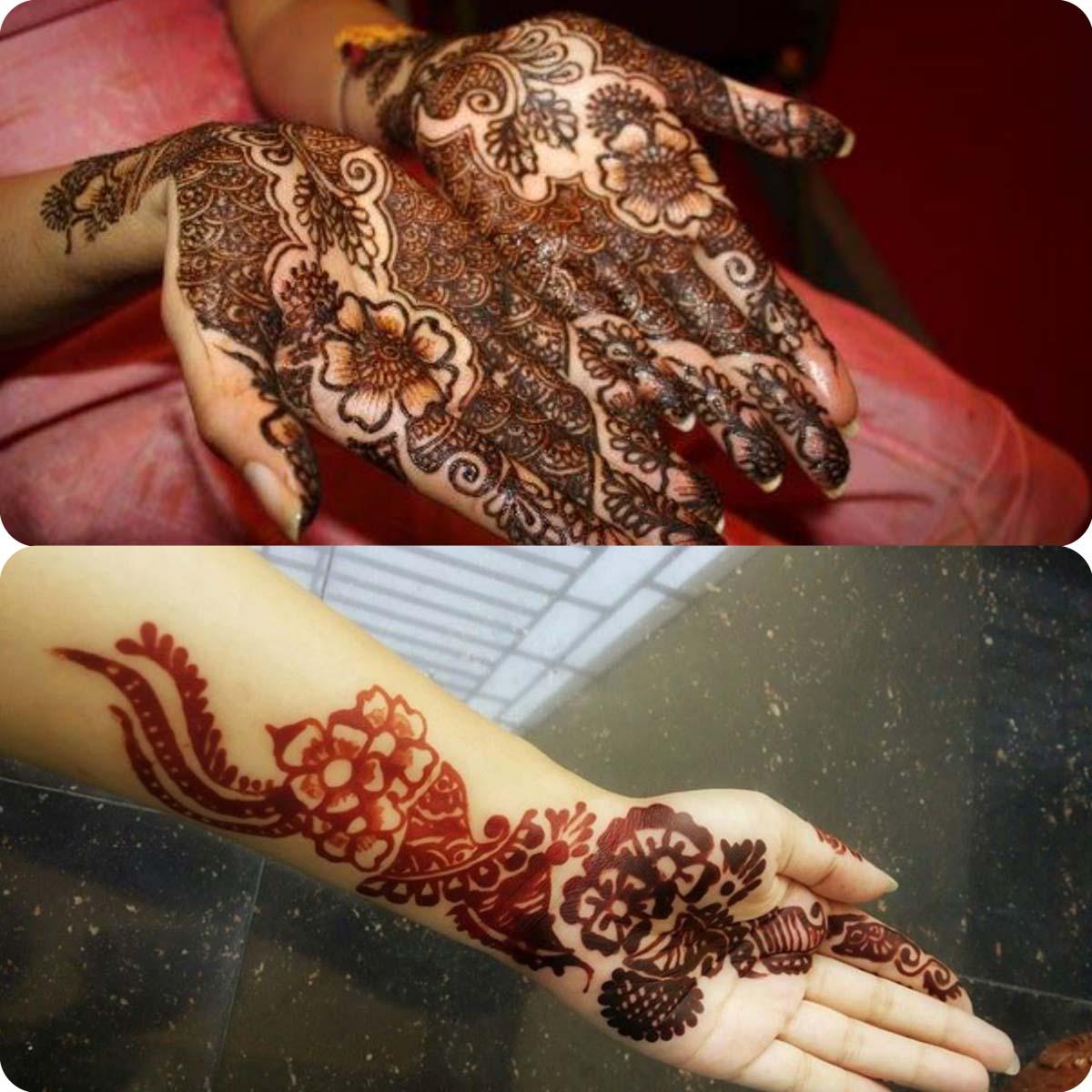 Simple pakistani mehndi designs for eid