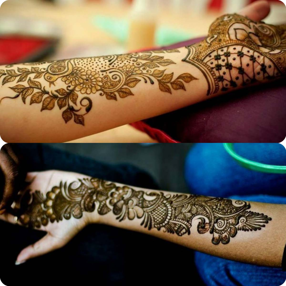 Mehndi Designs New Simple : Eid ul adha mehndi design for women stylo planet