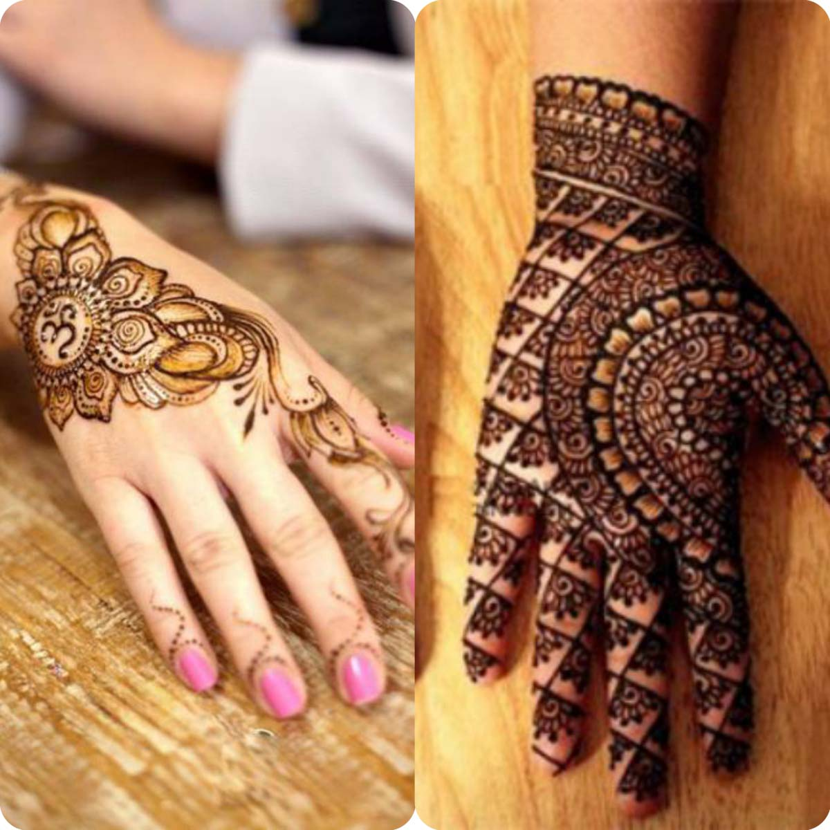 Mehndi design 2017 eid - Innovative Simple Amp Easy Eid Mehndi Designs 20162017 Latest Collection 4