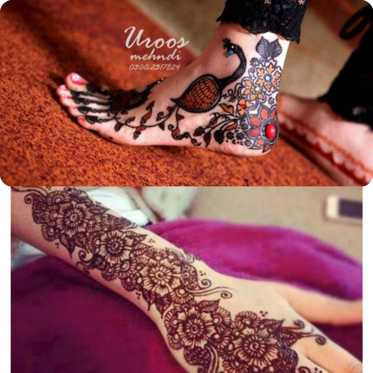 Mehndi design 2017 eid collection - New Simple And Easy Mehndi Designs 2016 2017 For Eid Al Azha 33