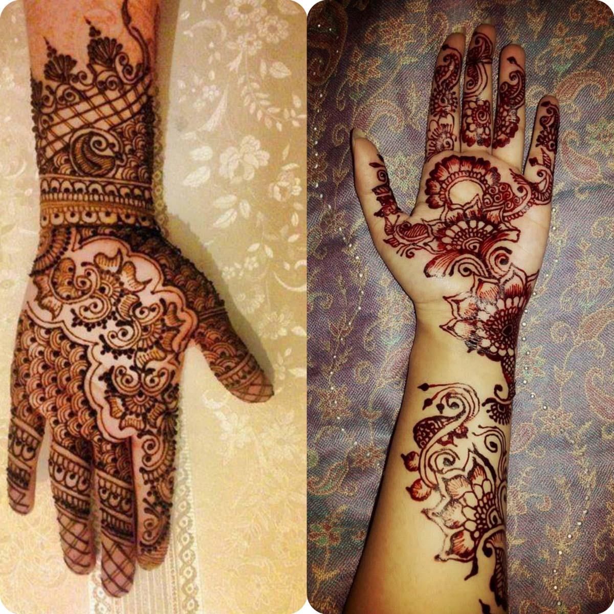 Simple Mehndi 2017 : Eid ul adha mehndi design for women stylo planet