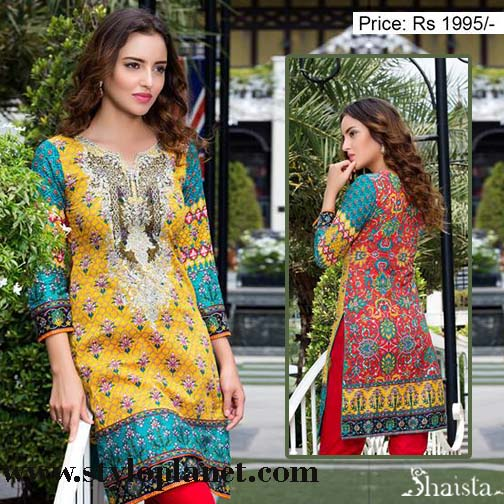 Shaista Designers Latest Eid Wear for Women 2016 with Price (10)