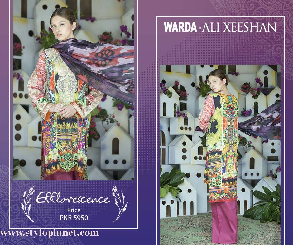 Warda.Ali Xeeshan Luxrious Eid Collection for Women 2016-2017 (11)