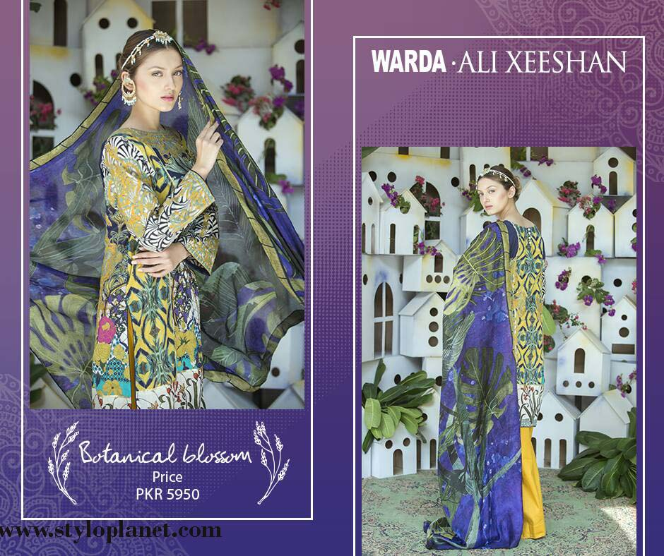 Warda.Ali Xeeshan Luxrious Eid Collection for Women 2016-2017 (13)