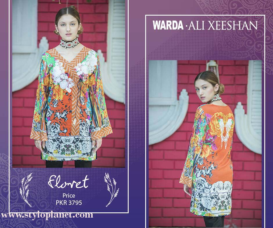 Warda.Ali Xeeshan Luxrious Eid Collection for Women 2016-2017 (2)
