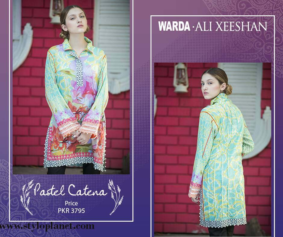 Warda.Ali Xeeshan Luxrious Eid Collection for Women 2016-2017 (4)
