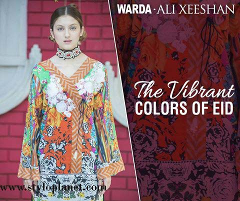 Warda.Ali Xeeshan Luxrious Eid Collection for Women 2016-2017 (8)