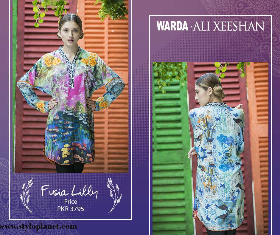 Warda.Ali Xeeshan Luxrious Eid Collection for Women 2016-2017 (9)