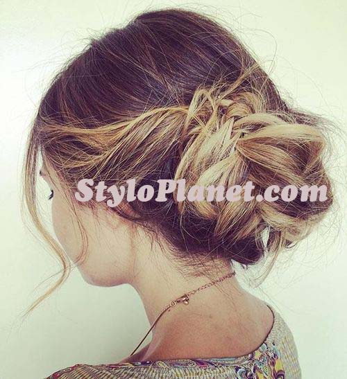 Youthful Updo