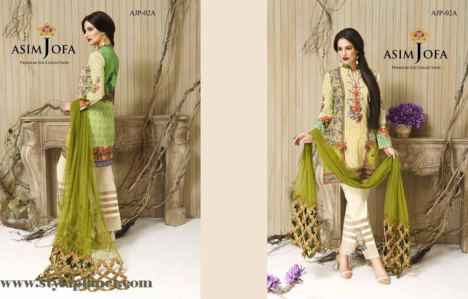 embroidered Collection by Asim Jofa