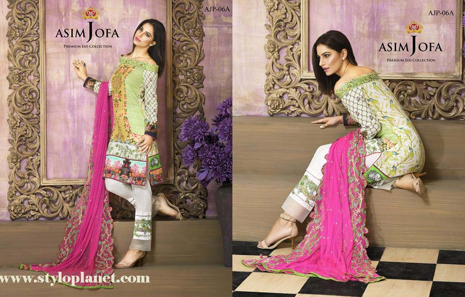 Asim Jofa Luxury Premium Eid Dresses Collection 2016 -2017 Catalog (10)
