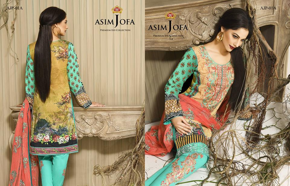 Asim Jofa Luxury Premium Eid Dresses Collection 2016 -2017 Catalog (11)