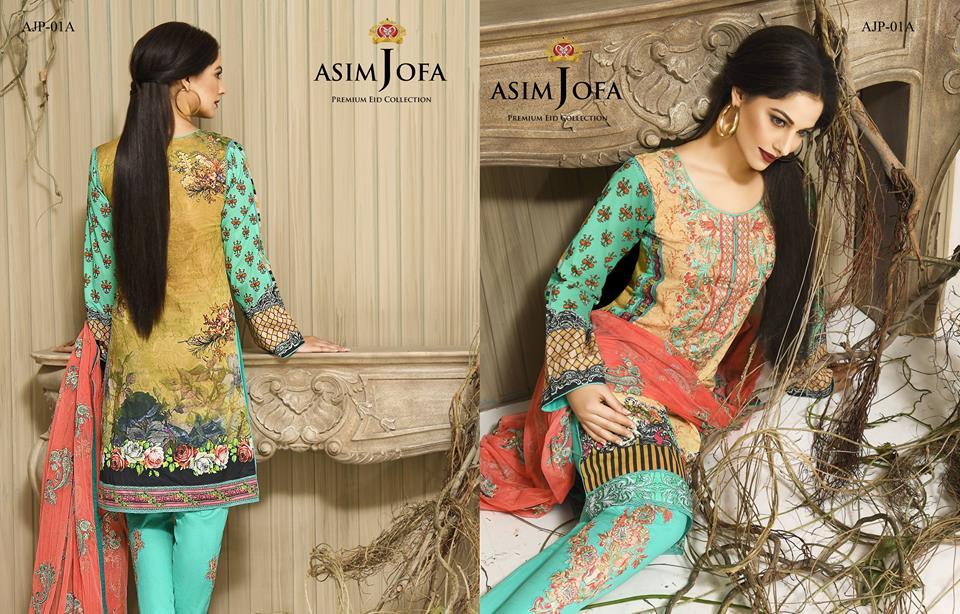 Asim Jofa Luxury Premium Eid Dresses Collection 2016 -2017 Catalog (11)