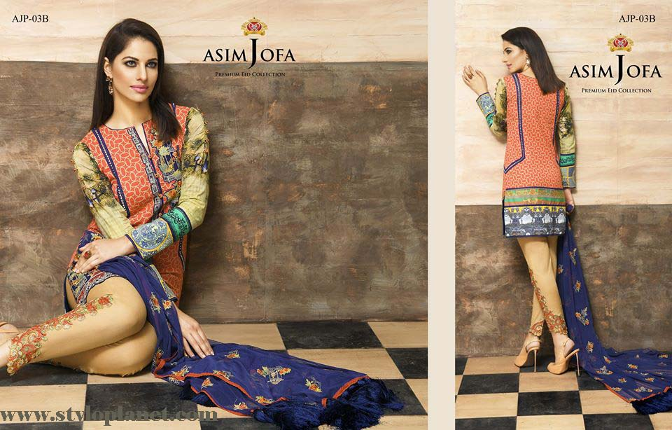 Asim Jofa Luxury Premium Eid Dresses Collection 2016 -2017 Catalog (12)