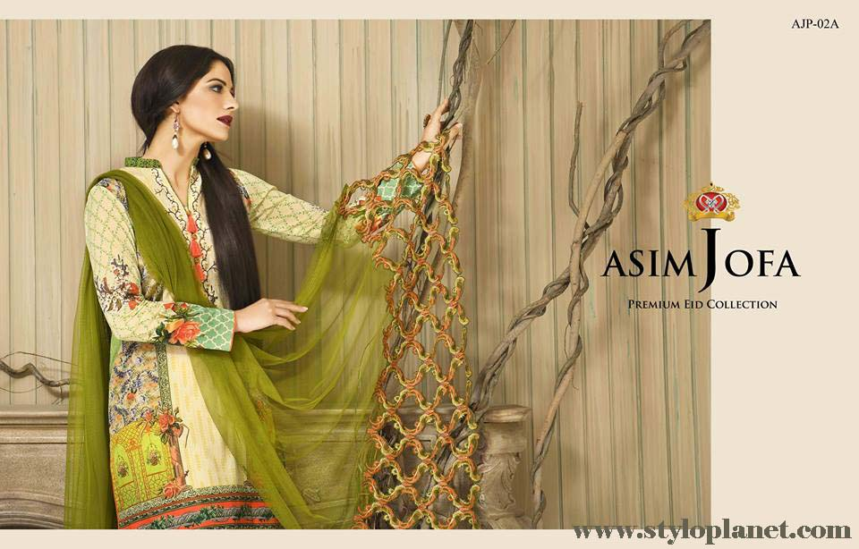 Asim Jofa Luxury Premium Eid Dresses Collection 2016 -2017 Catalog (13)