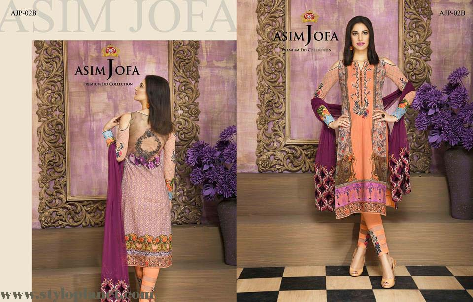 Asim Jofa Luxury Premium Eid Dresses Collection 2016 -2017 Catalog (15)