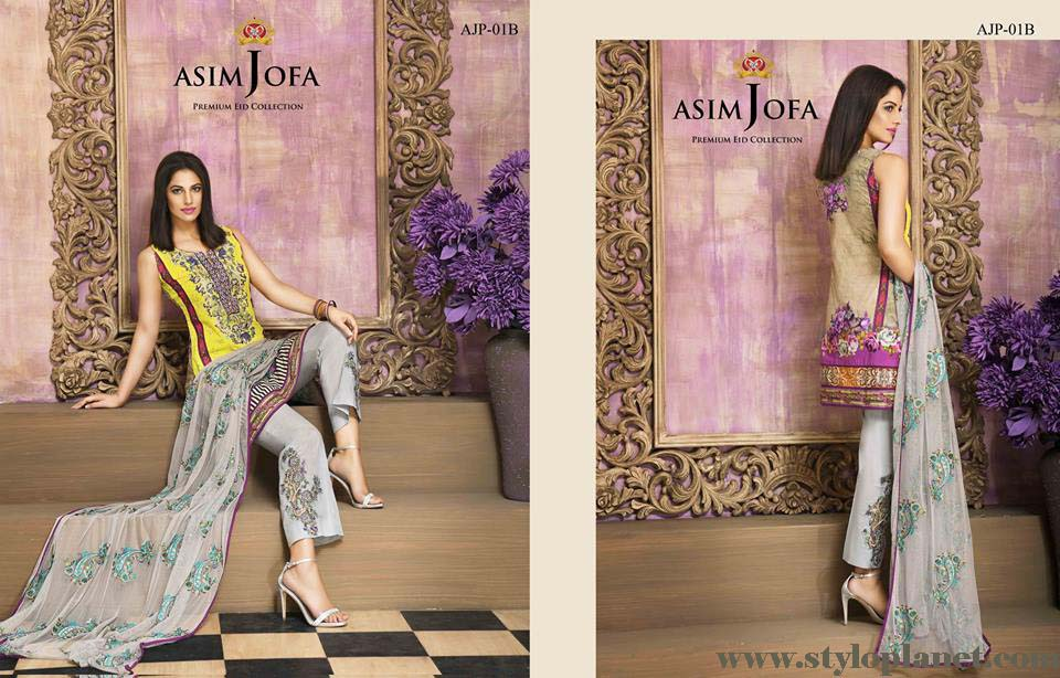 Asim Jofa Luxury Premium Eid Dresses Collection 2016 -2017 Catalog (16)