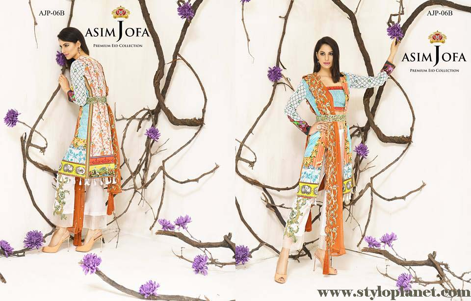 Asim Jofa Luxury Premium Eid Dresses Collection 2016 -2017 Catalog (18)