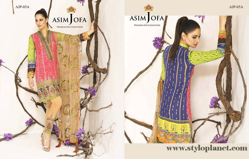 Asim Jofa Luxury Premium Eid Dresses Collection 2016 -2017 Catalog (2)