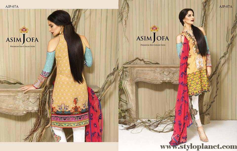 Asim Jofa Luxury Premium Eid Dresses Collection 2016 -2017 Catalog (20)
