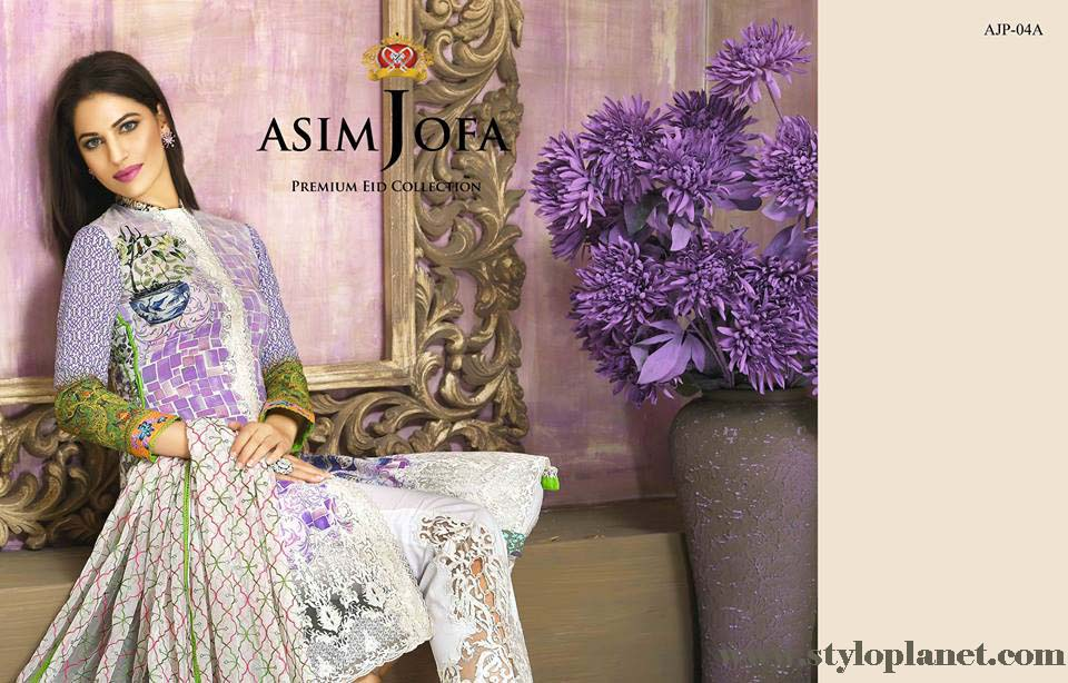 Asim Jofa Luxury Premium Eid Dresses Collection 2016 -2017 Catalog (21)