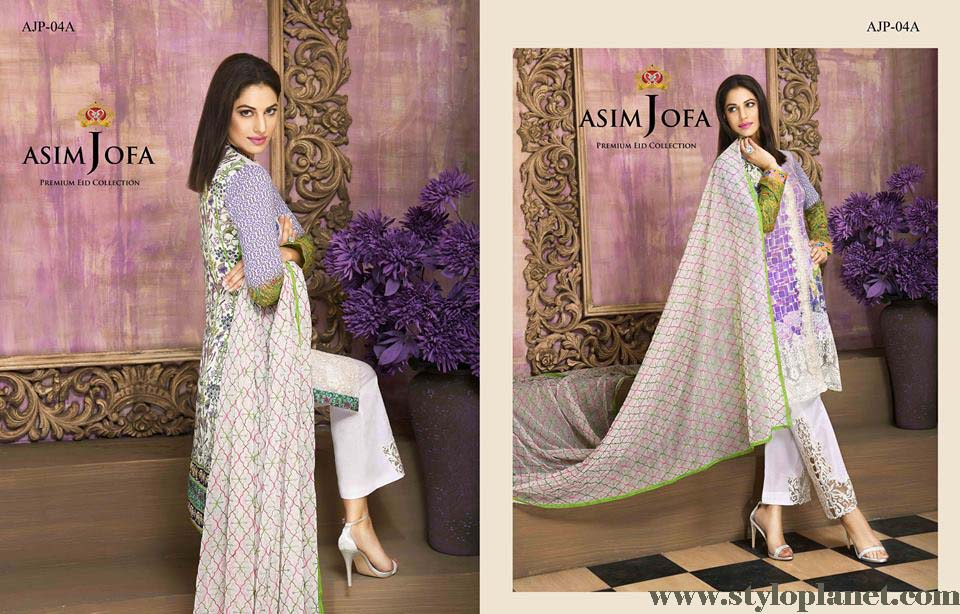 Asim Jofa Luxury Premium Eid Dresses Collection 2016 -2017 Catalog (22)