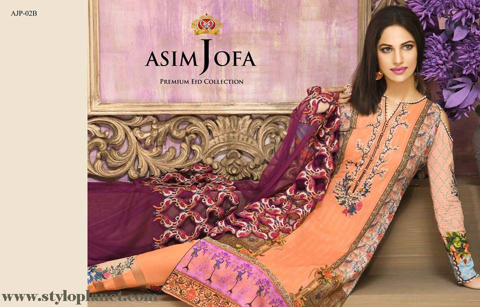 Asim Jofa Luxury Premium Eid Dresses Collection 2016 -2017 Catalog (23)
