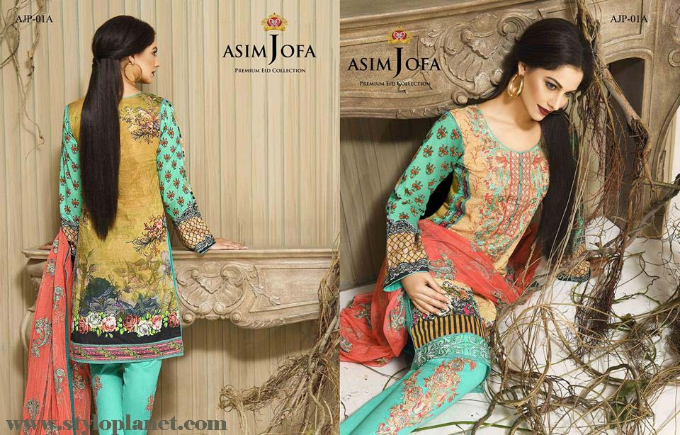 Asim Jofa Luxury Premium Eid Dresses Collection 2016 -2017 Catalog (24)