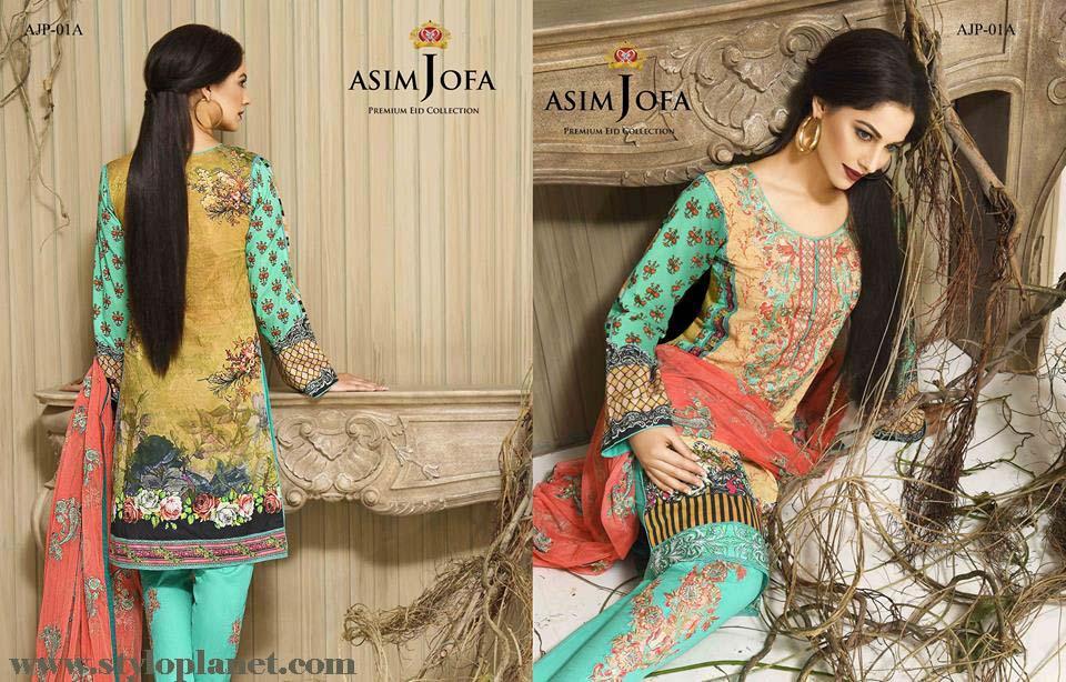 Asim Jofa Luxury Premium Eid Dresses Collection 2016 -2017 Catalog (24)