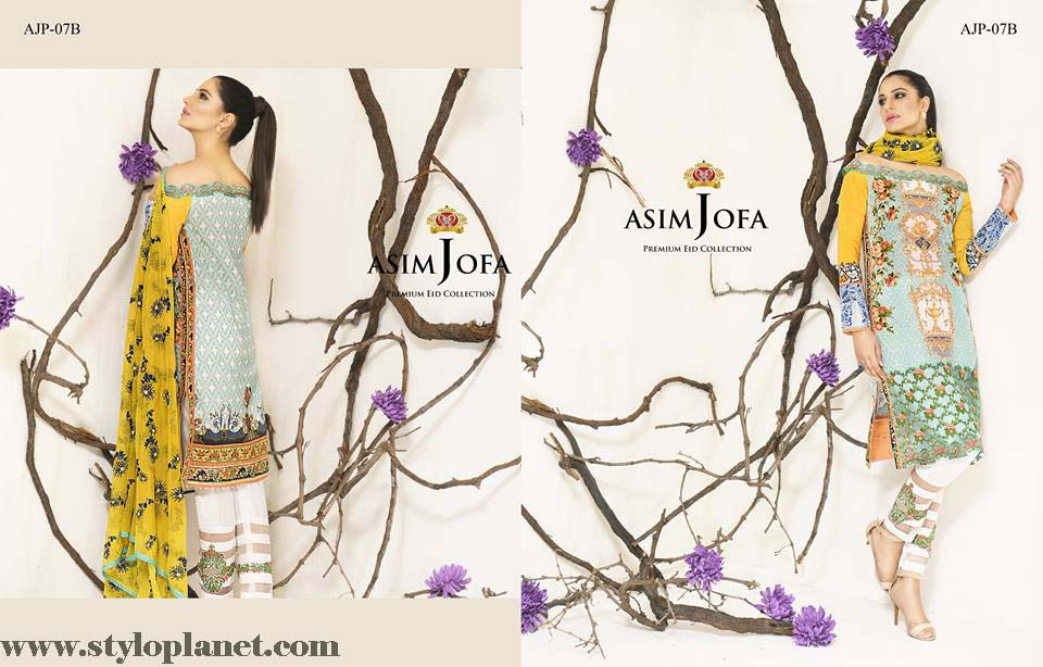 Asim Jofa Luxury Premium Eid Dresses Collection 2016 -2017 Catalog (25)