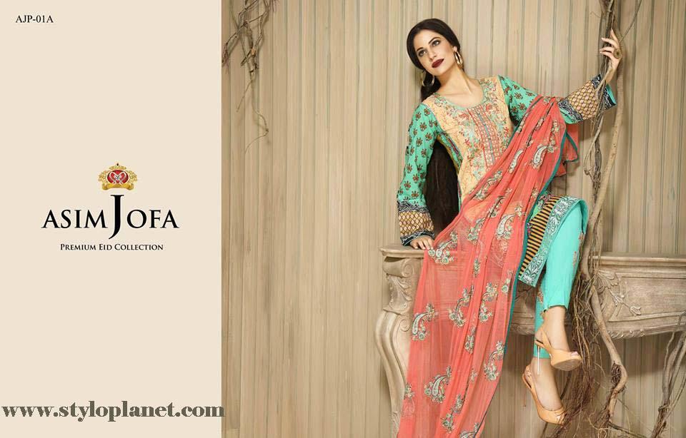 Asim Jofa Luxury Premium Eid Dresses Collection 2016 -2017 Catalog (3)