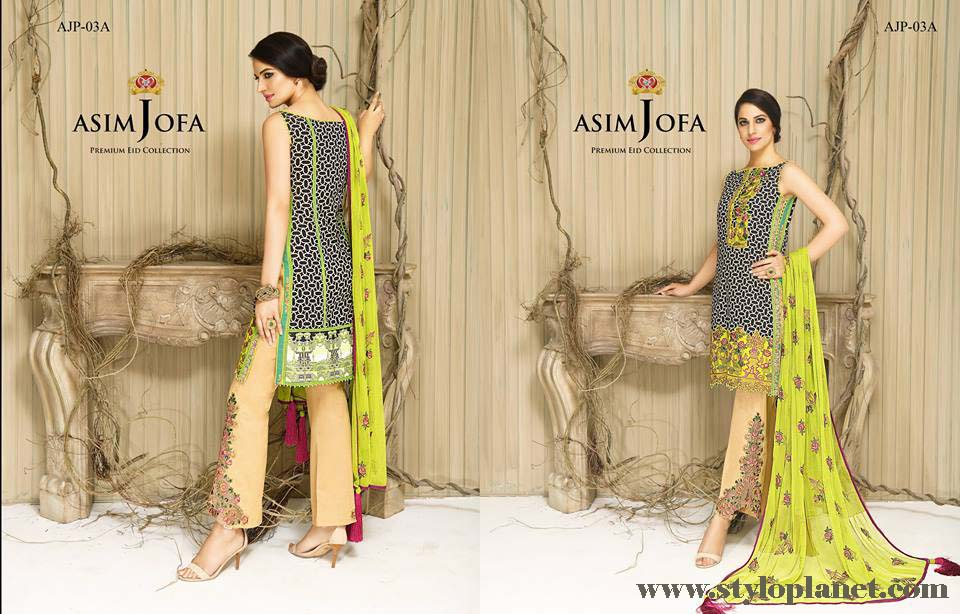 Asim Jofa Luxury Premium Eid Dresses Collection 2016 -2017 Catalog (4)